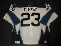 Oleksy Game-Worn Jersey Auction