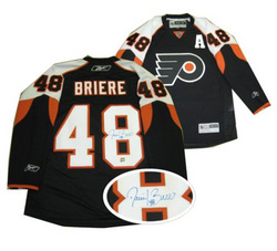 Briere Signed Jersey Auction