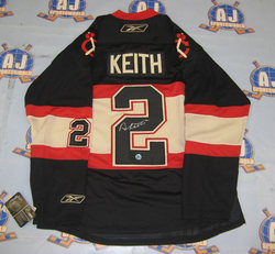 Keith Signed Jersey Auction