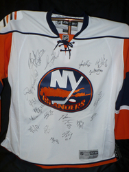 Islanders Signed Jersey Auction