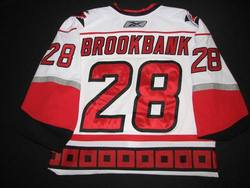 Wade Brookbank Game-Worn Jersey Auction