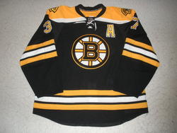 Patrice Bergeron Signed Jersey Auction
