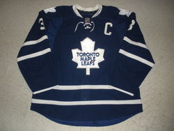 Dion Phaneuf Signed Jersey Auction