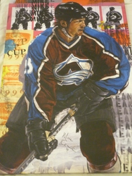 Mike Keane Signed Painting Auction