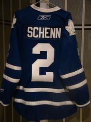 Luke Schenn Game-Worn Jersey Auction