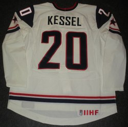 Kessel Game-WOrn Jersey Auction