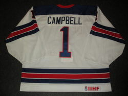 Jack Campbell Game-Worn Jersey Auction