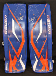 Dubnyk Game-Worn Pads Auction