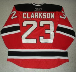 Clarkson Game-Worn Jersey Auction