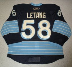 Kris Letang Game-Worn Jersey Auction